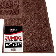 "SlipToGrip Jumbo Door Mat Indoor / Outdoor 42""x35"" Brown Duraloop - $19.44"