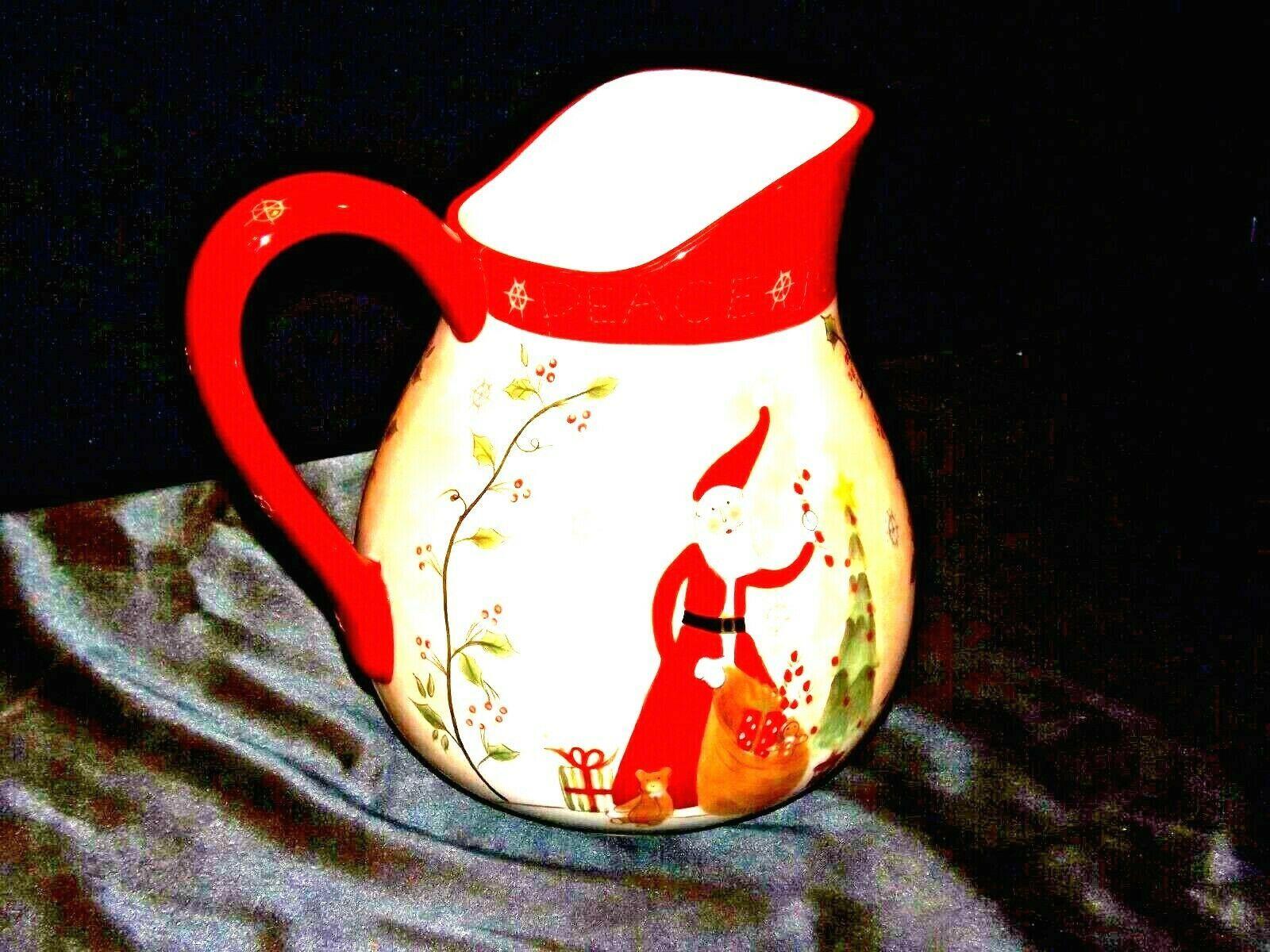 Santa Pitcher AA19-1466 Vintage