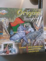 Origami African Animals Instruction Book Kit folding paper trial paper NEW - $9.49