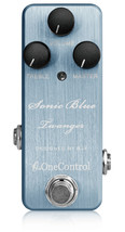 One Control Sonic Blue Twanger Distortion Guitar Effect Pedal BJF Series - $169.00