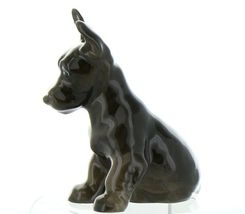 Hagen Renaker Pedigree Dog Scottish Terrier Pup Ceramic Figurine image 5
