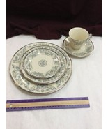 Lenox Desire 5 Piece Place Setting - Plates Cup And Saucer - $76.44