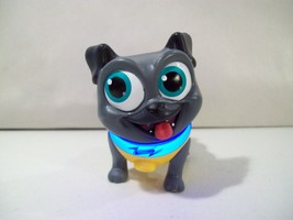 DISNEY JR PUPPY DOG PALS LIGHT UP PILOT BINGO DOG ACTION FIGURE  - $9.75