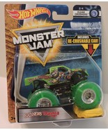 2018 MONSTER JAM SERIES MONSTER TRK - BAD NEWS TRAVELS FAST 1:64 - CRUSH... - $8.95