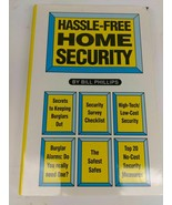 Hassle-Free Home Security by Bill Phillips 1994 hardcover - $4.94