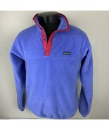 Patagonia Jacket Synchilla Snap T Fleece Pullover Medium Sweater Ski VTG... - $89.99