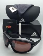 Polarisés Adidas Lunettes de Soleil Mauvais Oeil Evo Pro L A193 6055 Noir & Gris