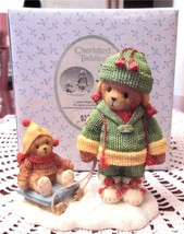 Cherished Teddies MARGE & AND NELL Friends Always Help You Pull Through ... - $21.00