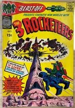 BLAST-OFF #1 Three Rocketeers (1965) Harvey Comics Williamson Crandall Kirby VG+ - £11.45 GBP
