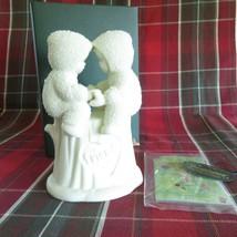 2001 Dept 56 Snowbabies Forever Friends Christmas Decoration Figurine 69167 - $18.69