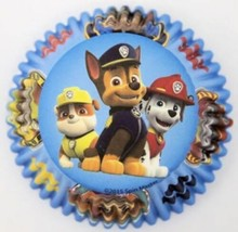 Paw Patrol 50 Baking Cups Party Cupcake Liners Treats Wilton - $2.81