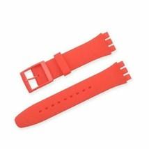 Rotes Silikonband für Swatch 19mm schließe - $10.59