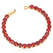 U7 Luxury AAA Zircon Bracelet For Women New Trendy 4 Colors Zirconia Jew... - $19.50