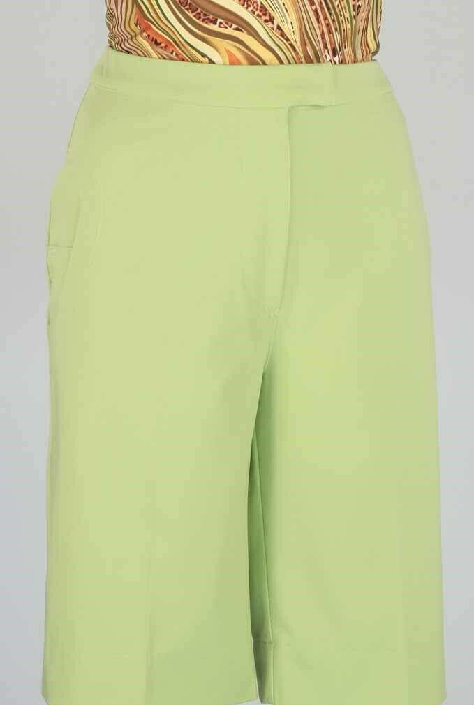 Stylish Women's Golf & Casual Straight Leg Pant in Sage Green - GolderWear