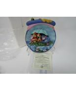 BRADFORD EXCHANGE PLATE WINNIE POOH ITS JUST A SMALL PIECE OF WEATHER # ... - $2.92