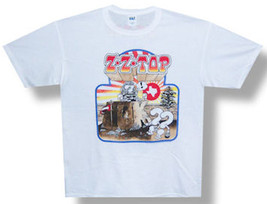 ZZ Top-Recreation-US 2012 Tour-XXL White  T-shirt - $15.44
