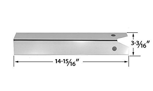 Stainless Steel Heat Plate for Great Outdoors Pinnacle TG475-2, Lynx L27PSR-2-20 - $11.35