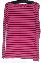 Women's PINK/BLUE Super Soft Top Size M Gap - $9.00