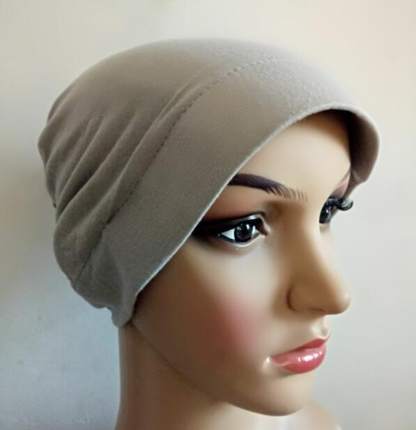 Primary image for turkish cap under cap hard brim back close wrap bonnet inner