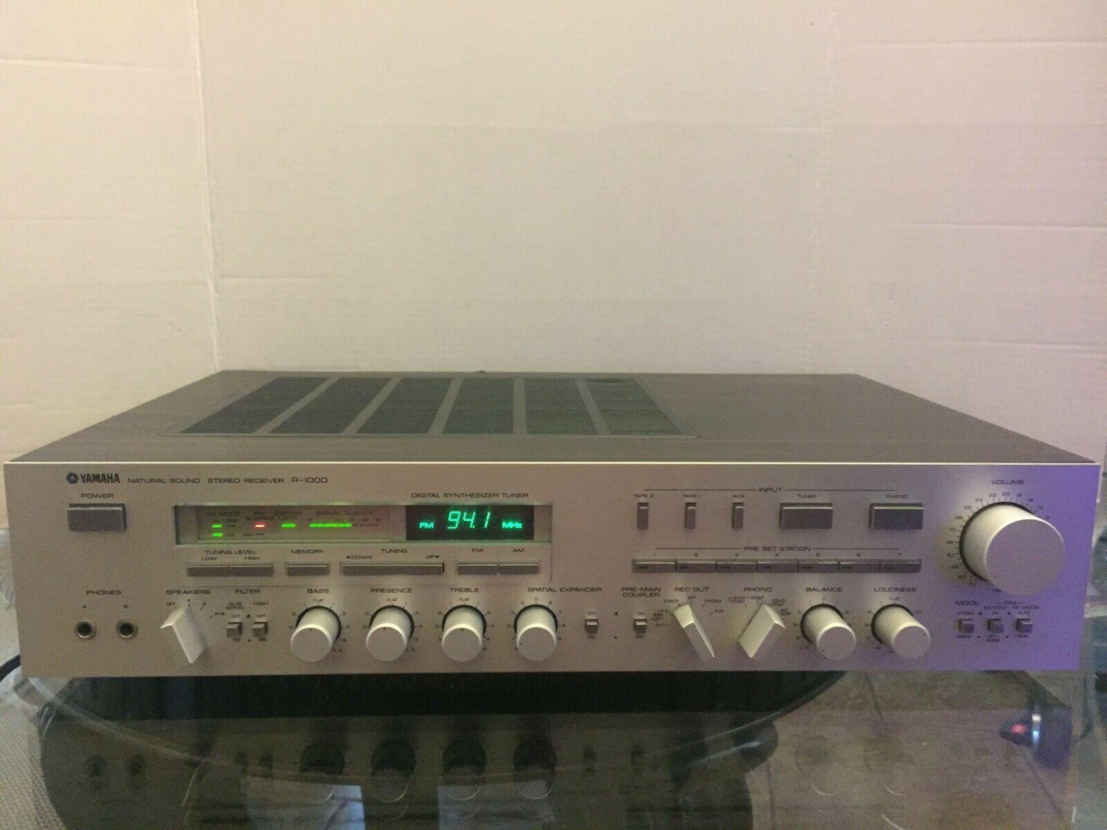 Used Yamaha R-1000 Receivers for Sale | HifiShark com