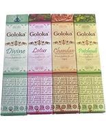Goloka 4 Box Incense Sticks Mix Assorted Fragrance Agarbatti Lot -HIS19A - $17.71