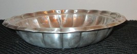 """REED & BARTON SilverPlate Scalloped Serving Bowl 10"""" round Shell Dish Holiday178 - $14.85"""