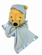 "Gund Winnie The Pooh 8"" Plush w/ Security Blanket Lovey Disney Baby Slee... - $23.96"