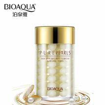 BIOAQUA Face Cream Pure Silk Pearl Essence Hyaluronic Acid Moisture 60g - $11.21 CAD