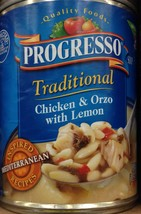 Progresso Traditional Chicken & Orzo with Lemon 18.5oz Can (Pack of 8) - $45.49