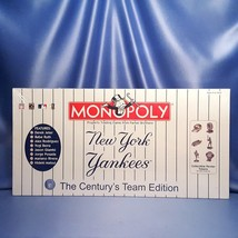Monopoly - New York Yankees - The Century's Team Edition - Board Game. - $100.00