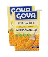 Pack of 2 Goya Cuban Style Yellow Rice Arroz Amarillo Cholesterol Free 7... - $13.85