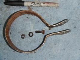 Exhaust pipe header muffler bracket 1973 1974 Harley Davidson AMF 350 SS Sprint - $28.04