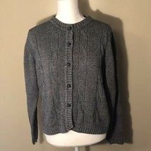 Liz Claiborne Cardigan Sweater Medium  - $15.83