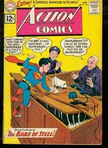 ACTION COMICS #284 DC SUPERMAN 1962 SUPERBOY COVER VG - $44.14
