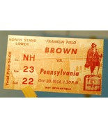 1956 Pennsylvania v Brown College Football Tick... - $8.60