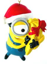 Carl- Despicable Me-Minion Ornament-Santa Hat and Bananas-Holiday! - $5.00
