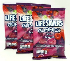 Life Savers Gummies Wild Berries Candy Bag, 7 ounce, 3 Pack - $19.79