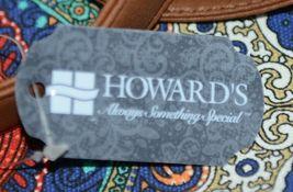 Howards Product Number 68985 Large Shoulder Bag Multi Color Paisley Print image 5