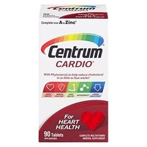 Centrum Cardio Multivitamin, 90 tablets