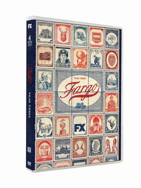 Fargo The Complete Third Seasons 3 DVD Box Set 4 Disc Free Shipping New