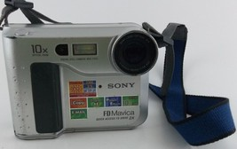 Sony MVC-FD75 Digital Camera for Parts Only Comes with Strap No Battery - $15.00