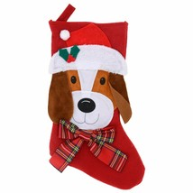 Christmas Pet Stocking, 18 in. Dog w - $5.99