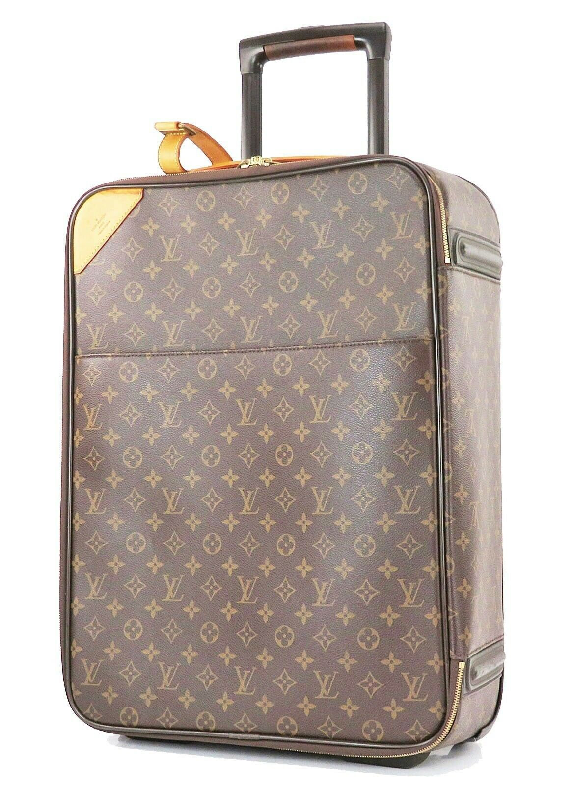 Primary image for Authentic LOUIS VUITTON Pegase 50 Monogram Canvas Travel Rolling Suitcase #32858
