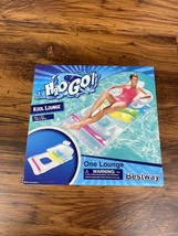 H2o GO Inflatable Pool Lounge Back Head Arm Rests Float Lounge Bestway N... - $23.99