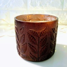 *Bath & Body Works* Pumpkin Pecan Waffle 3-Wick Candle | Embossed Colore... - $49.45