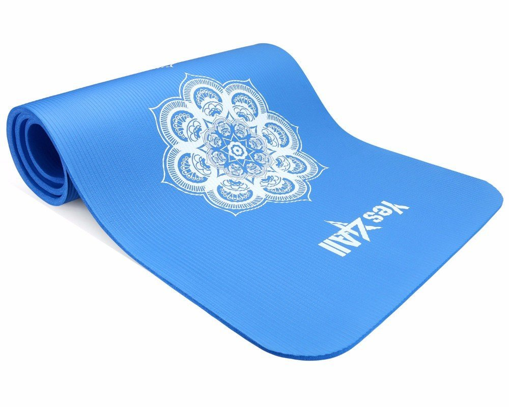 72 Inch Exclusive Premium Yoga Mat Printed Versions- Strap Extra Thick (HYPNO...