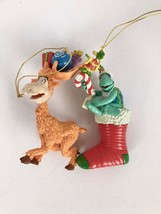 (2)Christmas Ornament Figurines Dr Seuss Characters Yertle Turtle&Thidwi... - $16.78