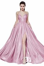 A-line Sweetheart Glitter Prom Dress Strapless Formal Party Ball Gown wi... - $142.89