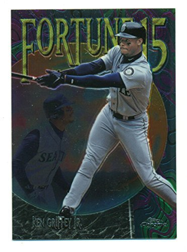 1999 Topps Chrome Ken Griffey Jr. Fortune 15 #FF5 - Baseball Card