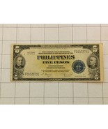 1944 Philippines $5 Five Dollar Treasury Certificate Victory Series Bank... - $35.00